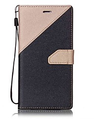 cheap -Case For Apple iPhone 5 Case iPhone 6 iPhone 7 Card Holder Flip Full Body Cases Tile Hard PU Leather for iPhone 7 Plus iPhone 7 iPhone 6s