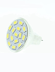 abordables -5W GU4(MR11) Focos LED MR11 15 leds SMD 5630 Regulable Blanco Cálido Blanco Natural Rojo Azul Verde 3000-3500/6000-6500lm 3000-3500