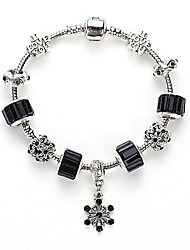 Buckle Crystal Bracelet Fashion Crystal Glass Beaded Bracelet Wholesale Jewelry Selling European and American Nations DIY Bracelet