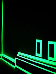 cheap -Green/Orange Fluorescence  Sticker Night Luminous Tape Strip Decal Decoration for Stair Door Motorcycle Car Luminous Tape Reflective