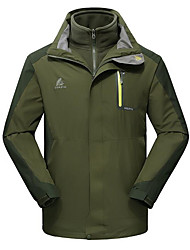 Men's Ski Jacket Waterproof Thermal / Warm Quick Dry Windproof Ultraviolet Resistant Breathable Windbreaker Softshell Jacket Top for