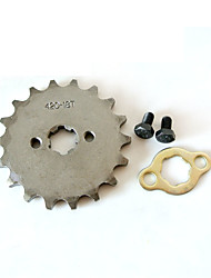 420-17MM-18T Tooth Front Sprocket For 150 200cc Dirt Pit Bike ATV Motocross Engine Lifan Locin
