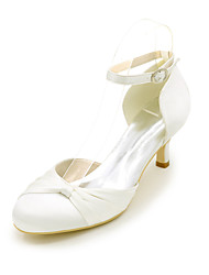 Women's Heels Spring / Summer / Fall D'Orsay & Two-Piece Silk Wedding / Party & Evening