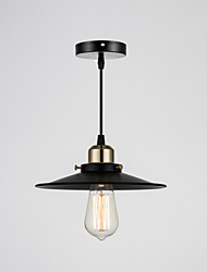 cheap -Pendant Light ,  Retro Painting Feature for Designers Metal Living Room Bedroom Dining Room Study Room/Office Entry