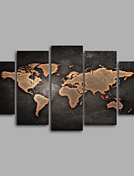 cheap -Print Maps Modern Five Panels