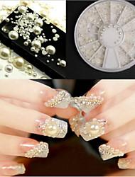 Недорогие -1 pcs Набор для ногтей Стразы для ногтей Жемчуг маникюр Маникюр педикюр Повседневные Мода / Украшения для ногтей