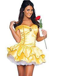 Da principessa Fiabe Dea Costumi Cosplay Stile Carnevale di Venezia Vestito da Serata Elegante Donna Halloween Carnevale Feste/vacanze