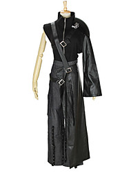 economico -Ispirato da Final Fantasy Cloud Strife / Costumi a tema di film e TV Anime Costumi Cosplay Abiti Cosplay Tinta unita Top / Pantaloni /