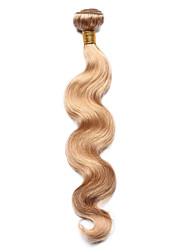 cheap -Indian Hair Body Wave / Classic Precolored Hair Weaves 1 Bundle Human Hair Weaves Strawberry Blonde Human Hair Extensions