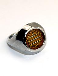 preiswerte -Mehre Accessoires Inspiriert von Naruto Choji Akimichi Anime Cosplay Accessoires Ring Silber Legierung