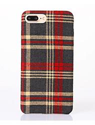 For Apple iPhone 7 Plus / iPhone 7 / iPhone 6s Plus / 6 Plus / iPhone 6s / 6  Case Cover Canvas TPU Mobile Phone Cases