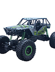 baratos -Carro com CR 2.4G 4WD Drift Car Carroça SUV Monster Truck Bigfoot Rock Climbing Car Off Road Car Alta Velocidade 1:10 25 KM / H Controlo