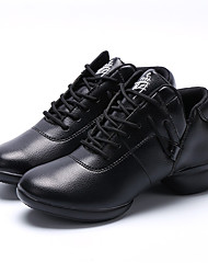 cheap -Women's Dance Shoes Leather Leather Latin / Jazz / Dance Sneakers / Tap / Modern / Swing Shoes / Dance Boots / Salsa