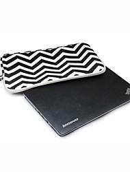 Недорогие -14,1 15,4 дюйма Зебра шаблон мешок компьютера ноутбук смарт-чехол для MacBook / Dell / HP / сони / поверхность / Ausa / Асер / Самсун и