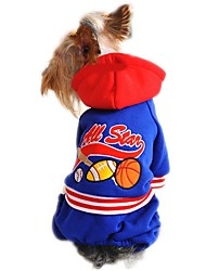cheap -NBA All Star Pattern Coat with Hoodie and Pants for Pets Dog (Assorted Sizes and Colours)