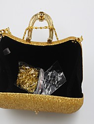 Women Bags All Seasons Other Leather Type Evening Bag Sequin for Event/Party Gold Silver Blue Khaki