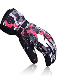 Winter Gloves Ski Gloves Kid's Full-finger Gloves Keep Warm Windproof Snowproof Nylon Cotton Ski & Snowboard Autumn/Fall Winter