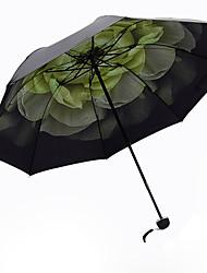 abordables -Vert Ombrelle pliable Ombrelle Aluminium / Plastic Poussette