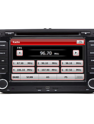 "billige -7 ""2 DIN touch screen lcd bil dvd-afspiller til Volkswagen med can-bus, bluetooth, gps, ipod-input, rds, radio, ATV"