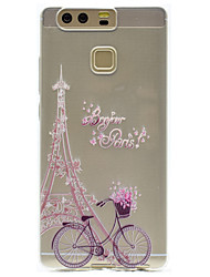 Tower Pattern High Permeability TPU Material Phone case forHuawei P9 Lite P9 P9 Plus  P8 Lite Honor V8  Honor 8
