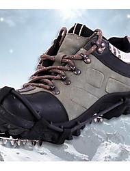 economico -Tacchetti da scalata Climbing Shoes Ramponi 18 denti antiscivolo Acciaio inossidabile per Campeggio e hiking Scalate Motoslitta Scarponi