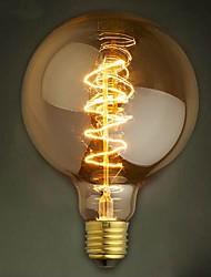 g125 fil autour de 40w lampe à incandescence edison lampes bar perle ampoule de tungstène edison ampoule décoration rétro
