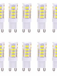 ywxlight® g9 LED-lysstift 51 smd 2835 350-450 lm varm hvidkold hvid dekorativ ac 220-240 v