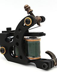 Coil Tattoo Machine Hand-polished Liner and Shader Cast Iron Professional Tattoo Machine