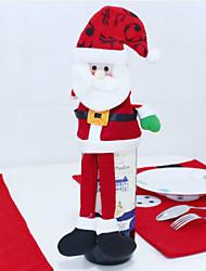 Недорогие -рождественские украшения, которые занимают дом Санта-Клауса бутылки вина украшают