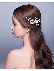 Women's Alloy Headpiece-Wedding / Special Occasion / Casual / Outdoor Headbands / Hair Combs / Flowers / Hair Pin / Hair Stick / Hair Tool