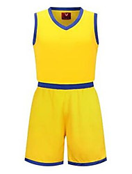 Homme Enfant Sans Manches Sport de détente Badminton Basket-ball Course/Running Ensemble de Vêtements Baggy Séchage rapide Respirable