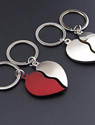 Inox Porte-clés Favors-2 Piece / Set Porte-clés Thème de plage / Thème de jardin / Thème classique / Thème de conte de féesNon