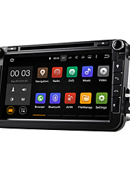 dab android 5.1 carro sistema de DVD player multimídia Wi-Fi 8 polegadas para o foco VW MAGOTAN 2007-2011 golf 5 de golfe de 6 caddy polo