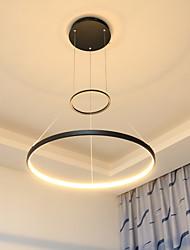 cheap -36W Modern Style Simplicity LED Pendant Light Metal LED Ring Living Room light
