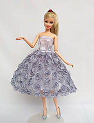 For Barbie Doll Dresses For Girl's Doll Toy