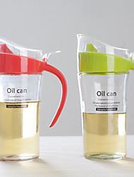 Недорогие -1 шт большая упаковка стекла утечка бак доказательство масло горшок бутылки приправа бутылка кухня масло крышкой vnegar бутылку уксуса