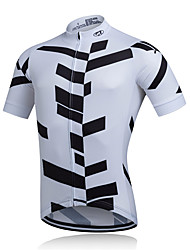 cheap -Fastcute Men's Short Sleeve Cycling Jacket / Cycling Jersey Bike Jersey, Quick Dry, Breathable, Sweat-wicking Polyester