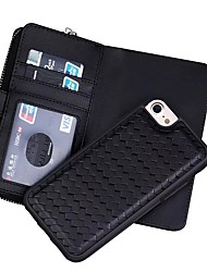 Per iPhone X iPhone 8 iPhone 7 iPhone 6 Custodia iPhone 5 Custodie cover A portafoglio Porta-carte di credito Integrale Custodia Tinta