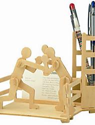 Недорогие -Пазлы Деревянные пазлы Строительные блоки DIY игрушки Сфера 1 Дерево Со стразами Модели и конструкторы