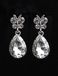 preiswerte -Damen Tropfen-Ohrringe - Silber Für Hochzeit / Party