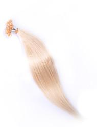evet malaio cabelo sedoso grau 6a reta u ponta extensões 100g / lot malaio verdadeiro prego cabelo humano atacado