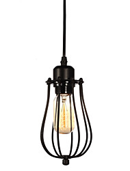 cheap -1 Heads Retro Birdcage Pendant Lights Restaurant,Living Room ,Study Room/office Edison Ceiling light Fixture
