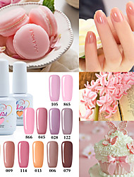 cheap -the best selling uv color gel uv led lamp nail gel polish nude color neutral color long lasting lacquerl