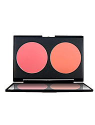 cheap -2pcs Blush Matte Cream Coloured gloss Face China