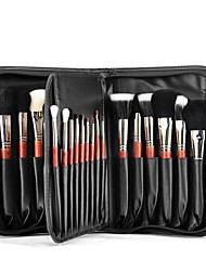 cheap -29 pcs Professional Makeup Brushes Makeup Brush Set Horse / Synthetic Hair / Squirrel Professional / Full Coverage Wood Eye / Face / Lip