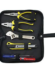 rewin työkalu 6kpl asunnon työkalusarja pihdeillä ja avaimella ja leikkuri ja ruuvimeisseli
