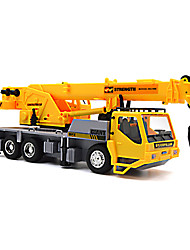 cheap -RC Car 8 Channel Truck Construction Truck Excavator Cranes 1:24 KM/H Remote Control Rechargeable Electric