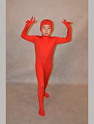 Ninja Ternos Zentai Morphsuit Criança Festival/Celebração Trajes da Noite das Bruxas Cor Única