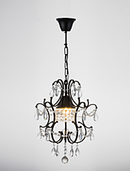Chandelier ,  Traditional/Classic Retro Painting Feature for Crystal Metal Bedroom Dining Room Hallway