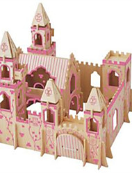 Jigsaw Puzzles Wooden Puzzles Building Blocks DIY Toys The Princess Castle A 1 Wood Ivory Model & Building Toy